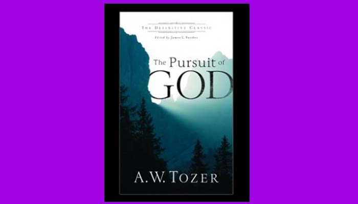 Pursuit Of God Tozer pdf