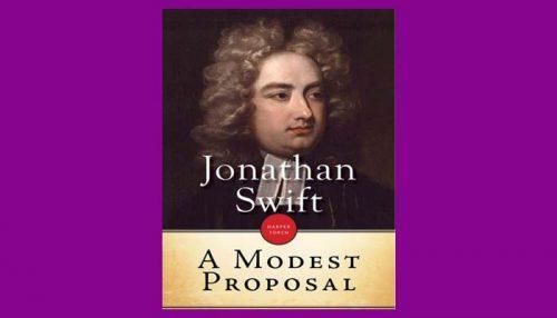 A Modest Proposal Book
