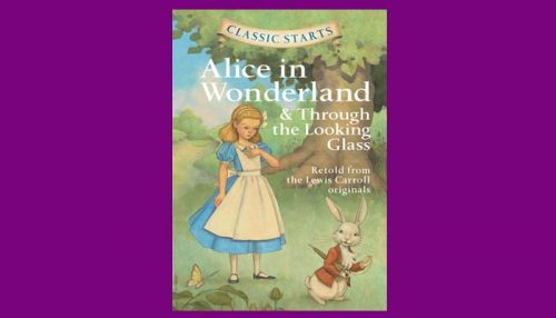Alice Through The Looking Glass Of Book