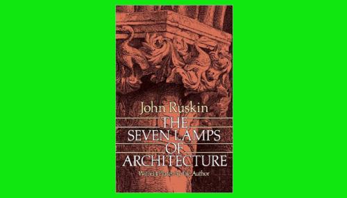 seven lamps of architecture pdf
