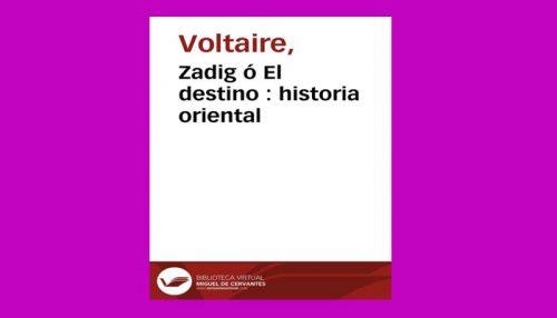 Zadig Ó El Destino Historia Oriental