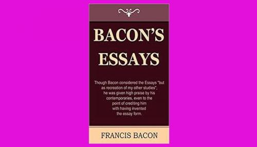 bacon's essays pdf